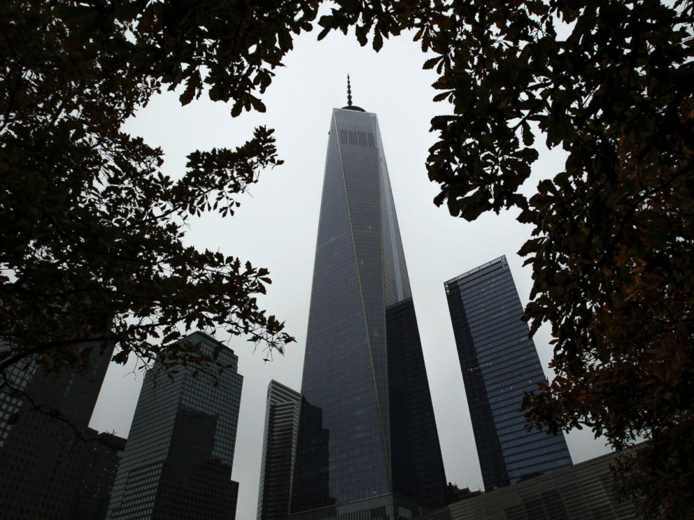 PHOTO: General view of the One World Trade Center in New York, Nov. 1, 2014.