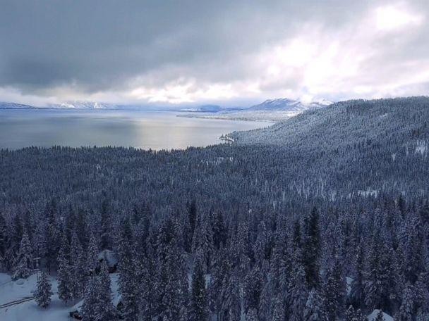 WATCH:  Heavy Snowfall in Lake Tahoe