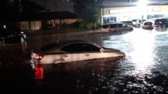 PHOTO: A slow-moving storm causes flash flooding in Texas.