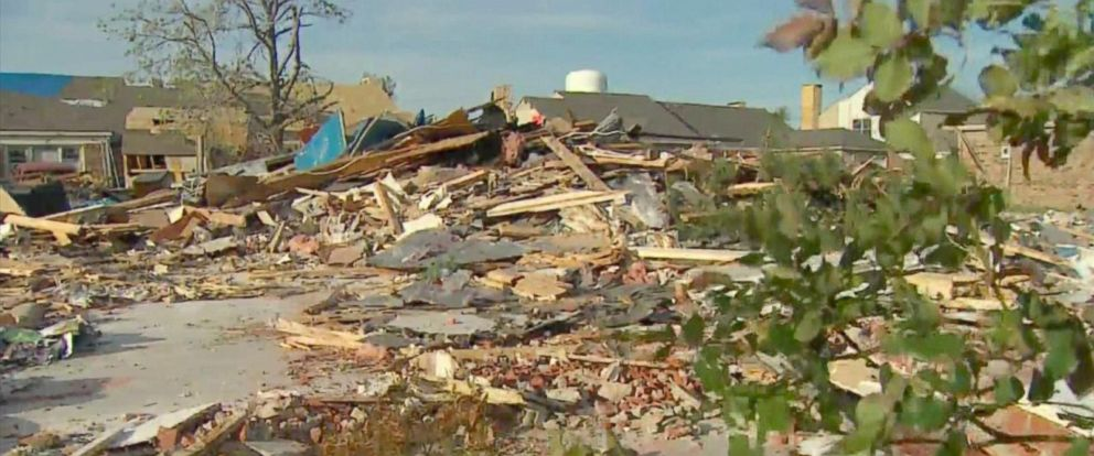 PHOTO: The wrong home in Rowlett, Texas, was demolished by Billy L. Nabors Demolition company.