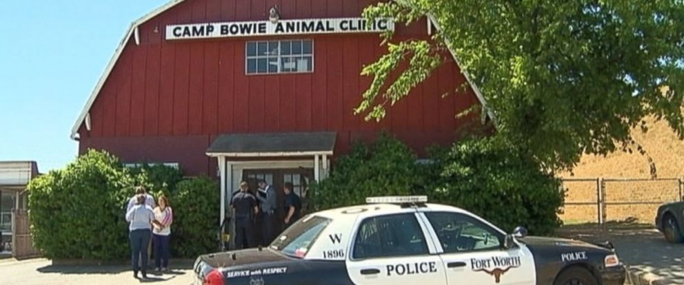 PHOTO: The Camp Bowie Animal Clinic in Fort Worth, Texas.