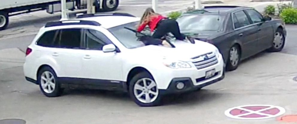 Wisconsin Woman Leaps On Her Car To Stop Carjacker At Gas Station