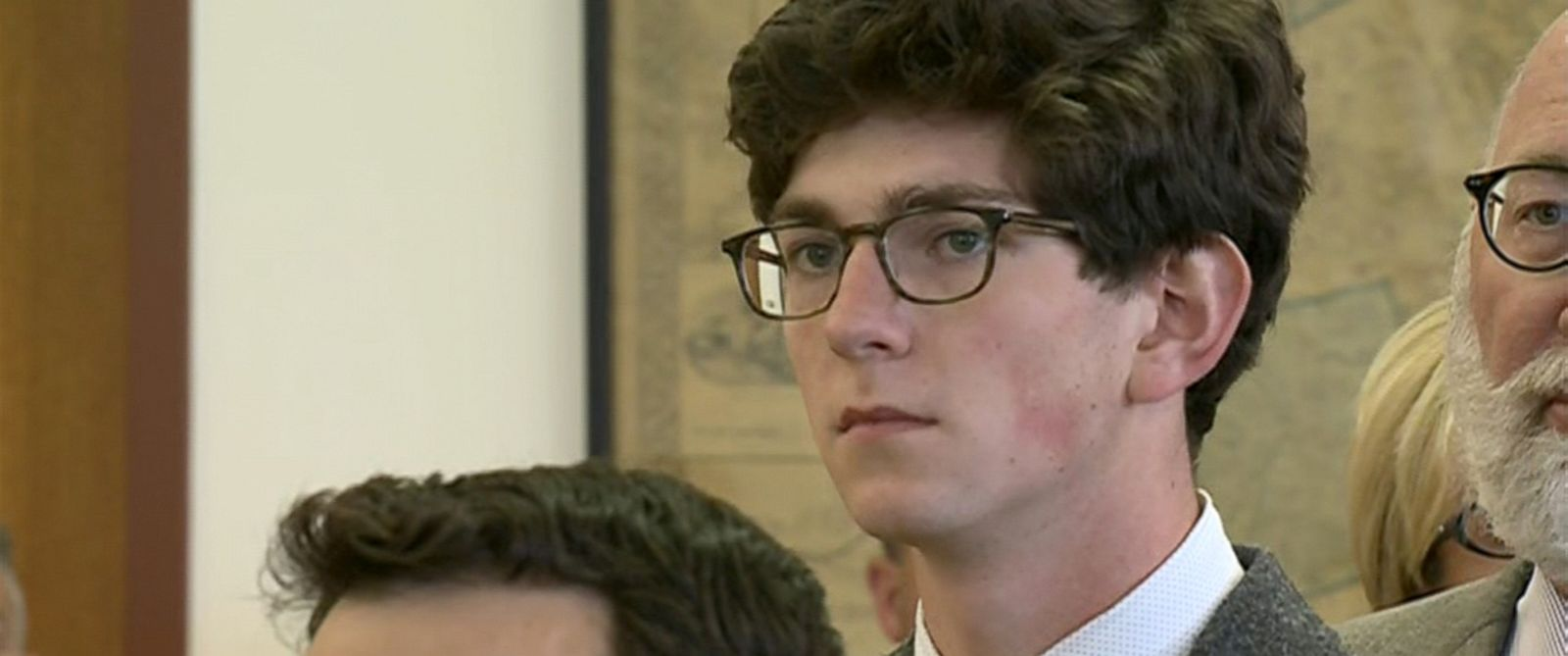 PHOTO: Owen Labrie is seen in court, Aug. 28, 2015, in Concord, N.H.