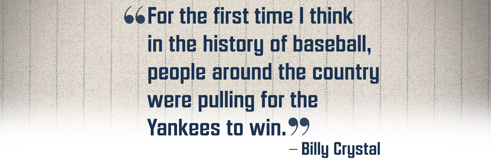 Baseball Quote How Baseball And The Yankees Helped New York Heal Post 911