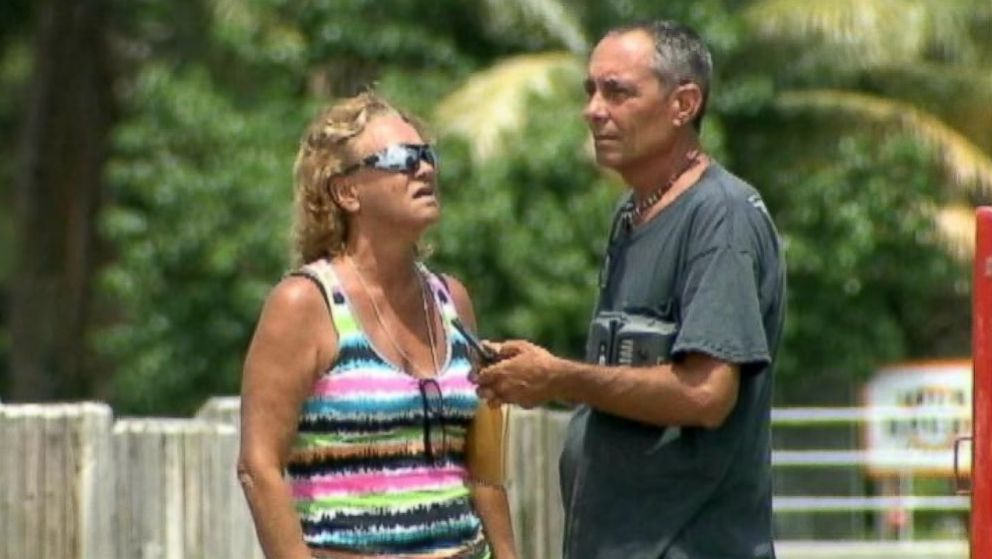PHOTO: Mellisa Morris, 52, and Sean McGovern, 50, drifted helplessly in the Atlantic Ocean off of Floridas coast for 14 hours before being rescued on June 21, 2014.