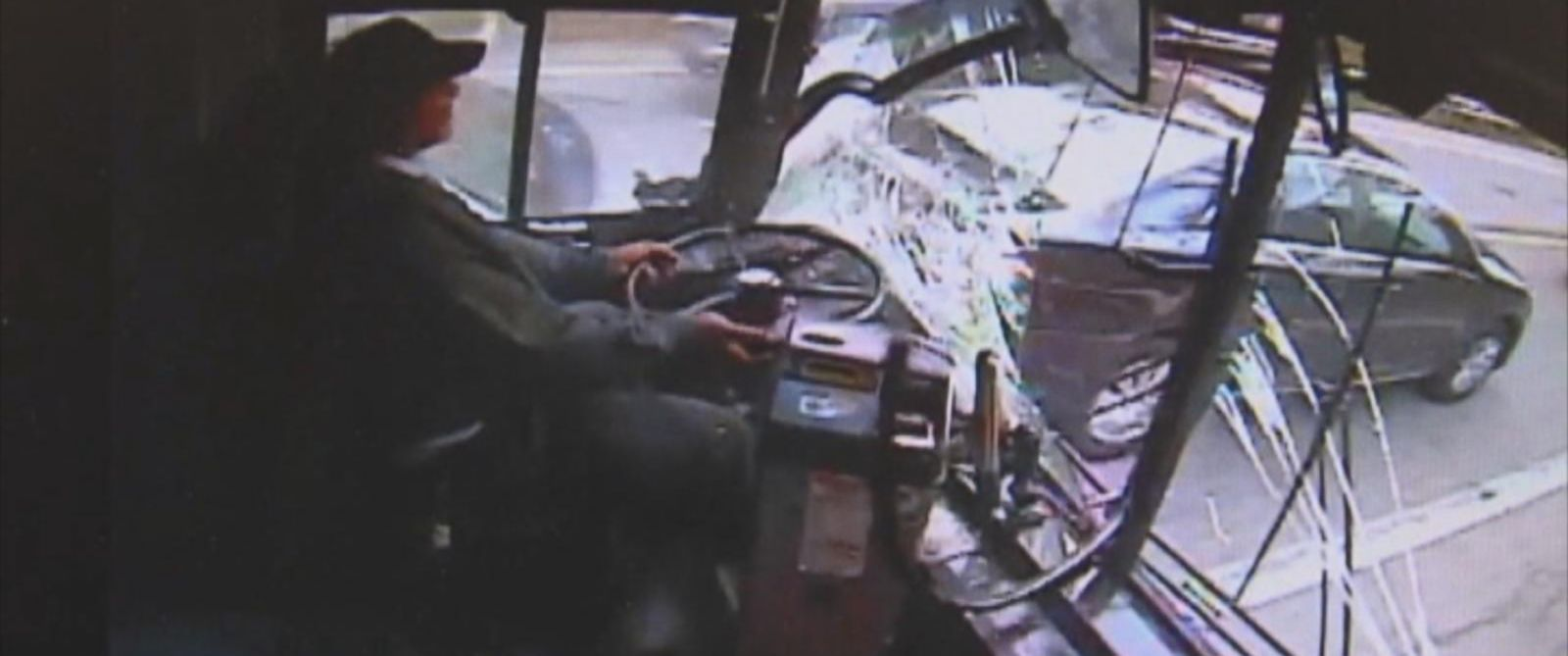 PHOTO: Authorities said today the driver of a city bus who police said fell asleep at the wheel and then slammed into eight vehicles in suburban Detroit will be charged.