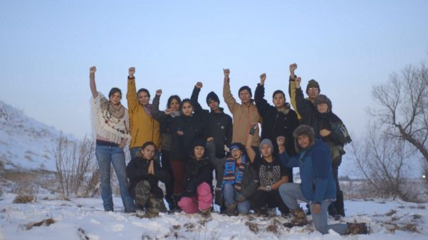 PHOTO: The International Indigenous Youth Council in December 2016.