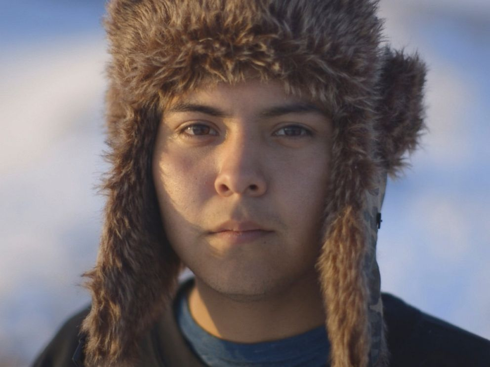 PHOTO: Alex Howland, 21, Apache/Navajo, International Indigenous Youth Council Co-Founder