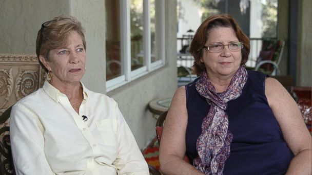 PHOTO: Trisha Baker and Debbie Hartman of Florida say they were kicked off an Allegiant Air flight recently after arguing with a flight attendant despite saying they were trying to reach a dying father in North Carolina.