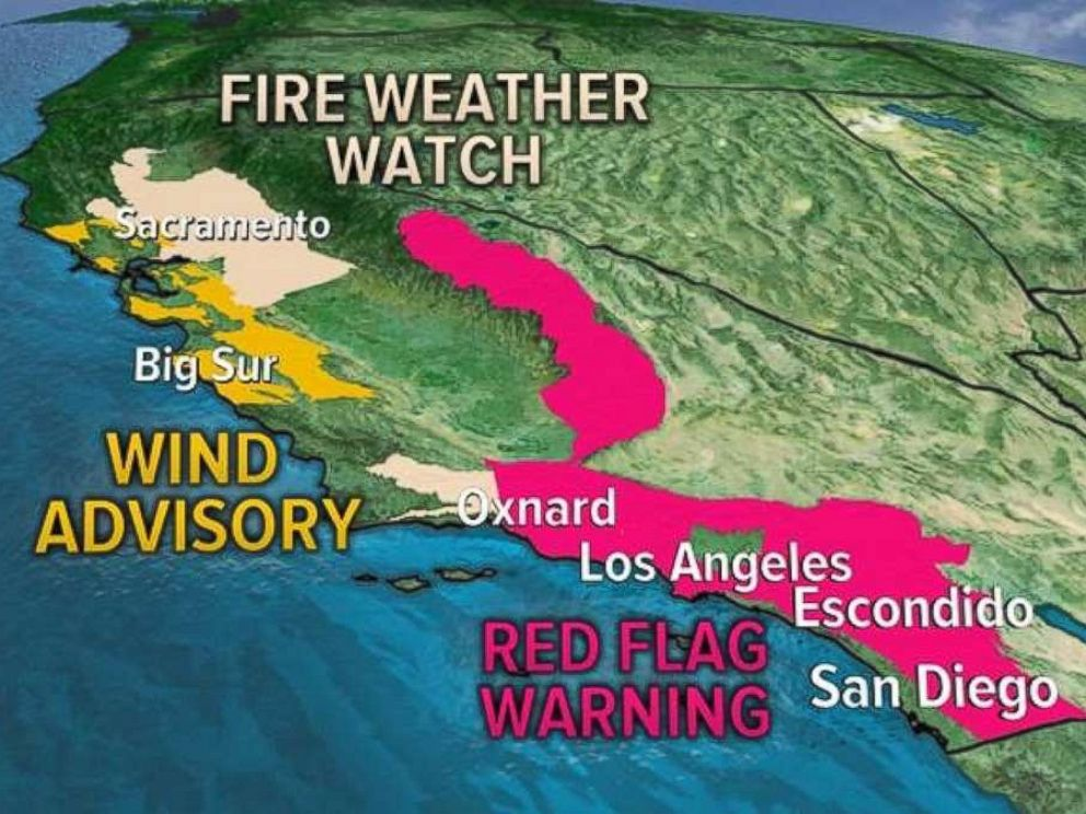 Advisories are in effect across California on Friday.