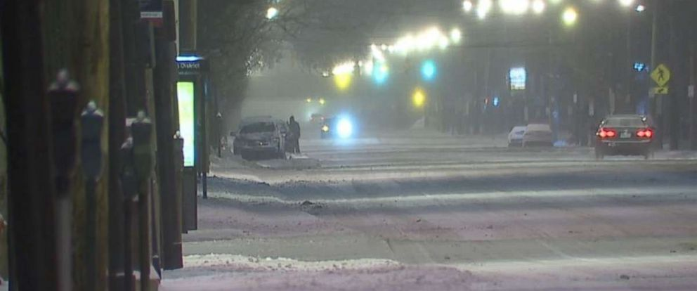 Cleveland received a few inches of snow on Thursday and will receive more through Saturday.