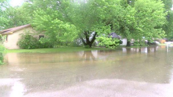 PHOTO: Flooding in Jonesboro, Ark., May 1, 2017.