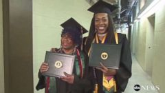 'Belinda, left, and Karea Berry, right, are grandma and granddaughter and graduated in the same class1_b@b_1Chicago State.' from the web at 'http://a.abcnews.com/images/US/abc-grandma-grad2-mo-20171215_16x9t_240.jpg'