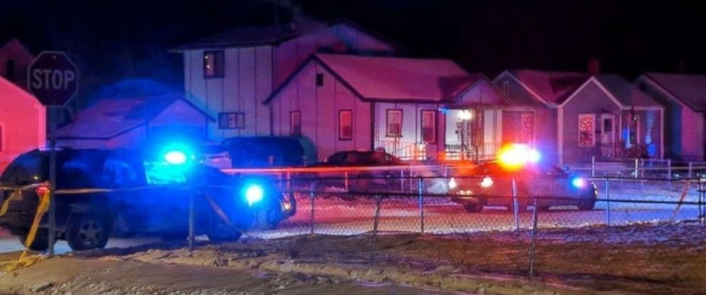 Police are investigating after three people were shot to death in a home in Omaha, Nebraska, on Dec. 26, 2017.