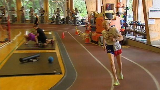 abc 90 yr run nt 130703 16x9 608 Runner, 95, Breaks World Records