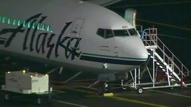 PHOTO:&nbsp;An Alaska Airlines jetliner was forced to make an emergency landing Jan. 31, 2013 in Portland, Ore., after the pilot lost consciousness.