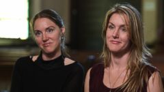 Twins Flor and Tamar Edwards, both 34, say they were raised in a controversial religious sect called The Children of God.