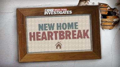 PHOTO: New Home Heartbreak, an investigation by the ABC News Brian Ross Investigative Unit and Nightline.