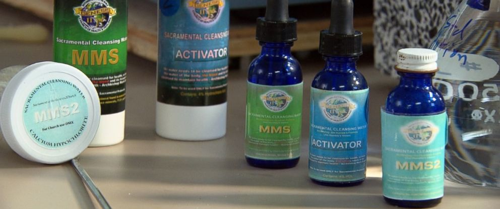 PHOTO: U.S. officials and medical experts say MMS is a kind of industrial bleach.