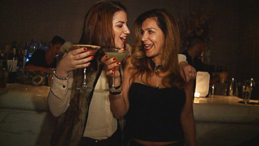 PHOTO: Vanesa Levine, 22, (left) and her mother, Nicole Levine, 47, (right) regularly go out together.