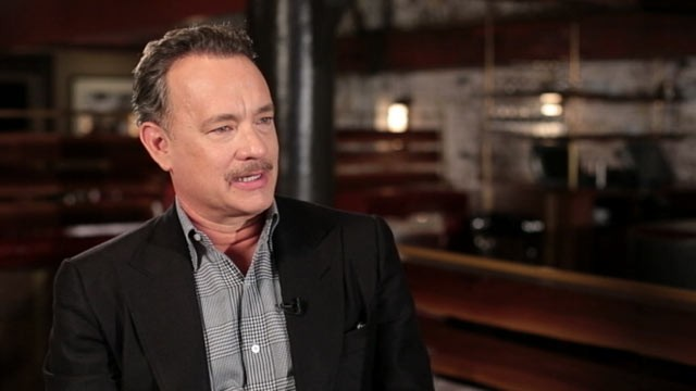PHOTO: Tom Hanks sat down with ABC News' Bob Woodruff to share his thoughts on his movies and wars in Iraq and Afghanistan.