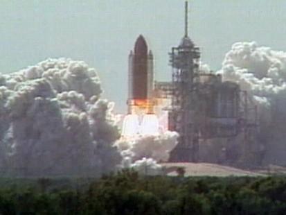 VIDEO: NASA Shuttle Discovery Launch 1988