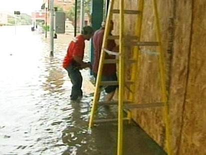 ike flooding