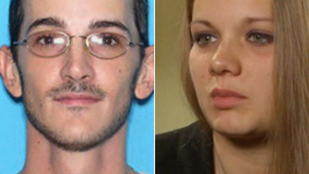 PHOTO: Brett Lee Curtis, left, killed himself on Oct. 29, 2013 after kidnapping Elizabeth Hamilton, right, and leading Florida police on a 100-mile chase on I-95.