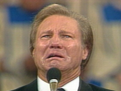 VIDEO: Jimmy Swaggart gave a tearful apology regarding his sexual transgressions.