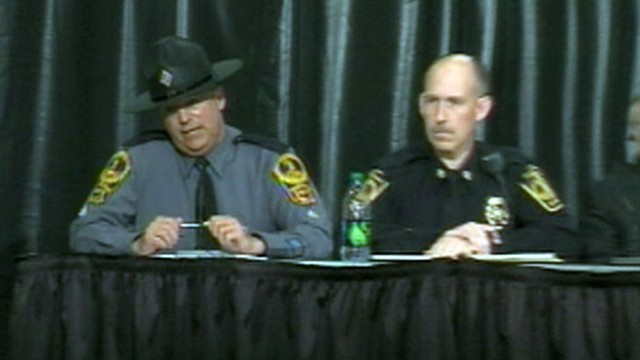 VIDEO: Local and state police give a press conference on shootings at the university.