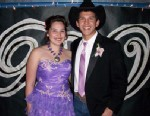 PHOTO: Alaina, pictured here at prom with Montana, has big dreams.