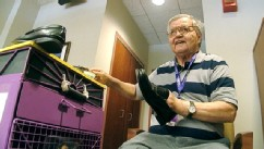 PHOTO: Albert Lexie, 71, donates all of his tips from shoe shining to the Childrens Hospital of Pittsburgh.
