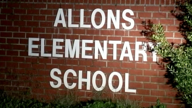 "PHOTO: A teacher from Allons Elementary has been suspended after writing ""Stupid"" on a students forehead in permanent marker."