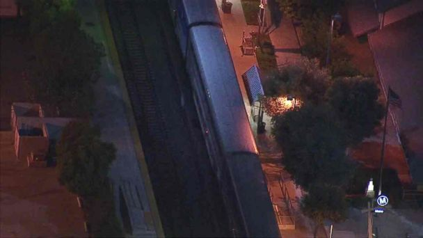 Man held after armed stand-off on Amtrak train