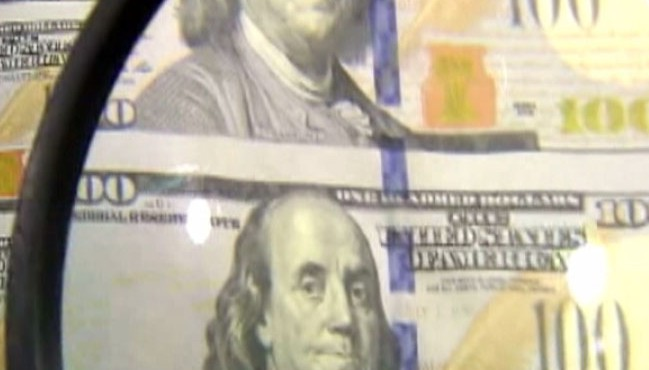 Video: Production of the $100 temporally stopped.