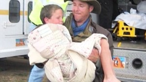 Video: Boy credits reality show Man vs. Wild for helping him.