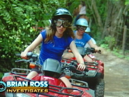VIDEO: Brook Scalise was on ATV tour in Costa Rica when she rode off 200 ft cliff