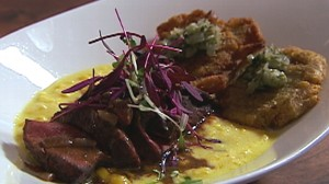 VIDEO: NIOS chef Patricia Williams batters her seafood with a refreshing lemon twist