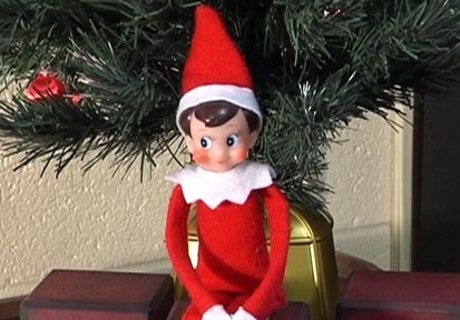 The Scary Elf Is Watching You Video Abc News