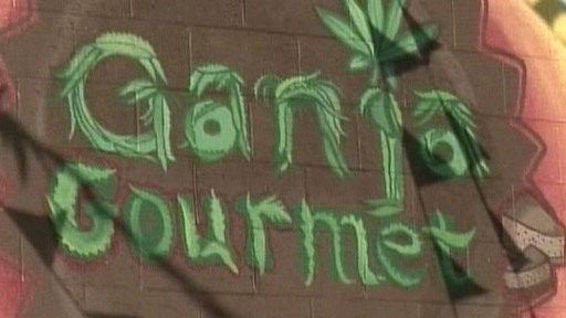 Video: Pot restaurant is only open to those with medical marijuana prescriptions.