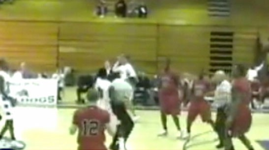 Video: H.S. basketball player attacks referee.