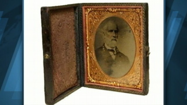 VIDEO: West Virginia man pays $23,000 for rare photograph of Robert E. Lee.