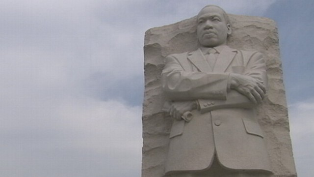 "VIDEO: Poet says inscription makes civil rights leader sound like ""an arrogant twit."""