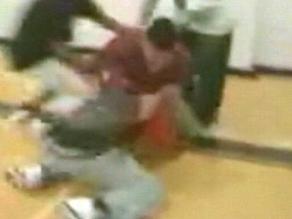 VIDEO: A brawl during a Texas high schools gym class raises questions about bullying.