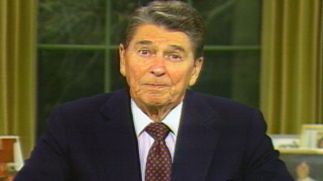 """ronald reagan farewell speech essay The novelist's many essays in the nation demonstrate his glittering  for a  serious speech that doctorow intended as a """"critique of the reagan."""