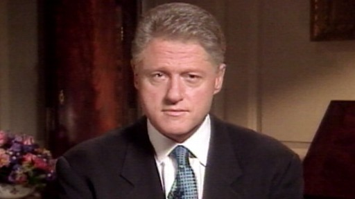 VIDEO: Bill Clinton admits affair with Monica Lewinsky