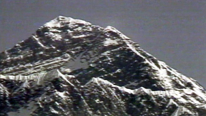 VIDEO: Live picture from Mt. Everest