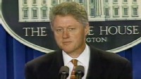 VIDEO: President Clinton Makes Statement on TWA 800
