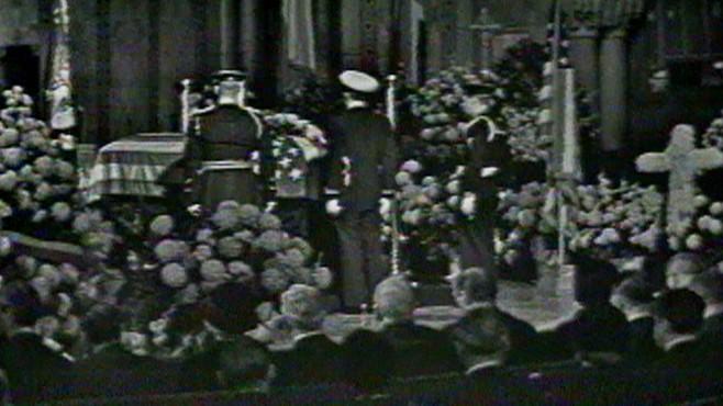 VIDEO: President Hoovers Funeral