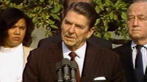 VIDEO: President Reagan Approves MLK Day
